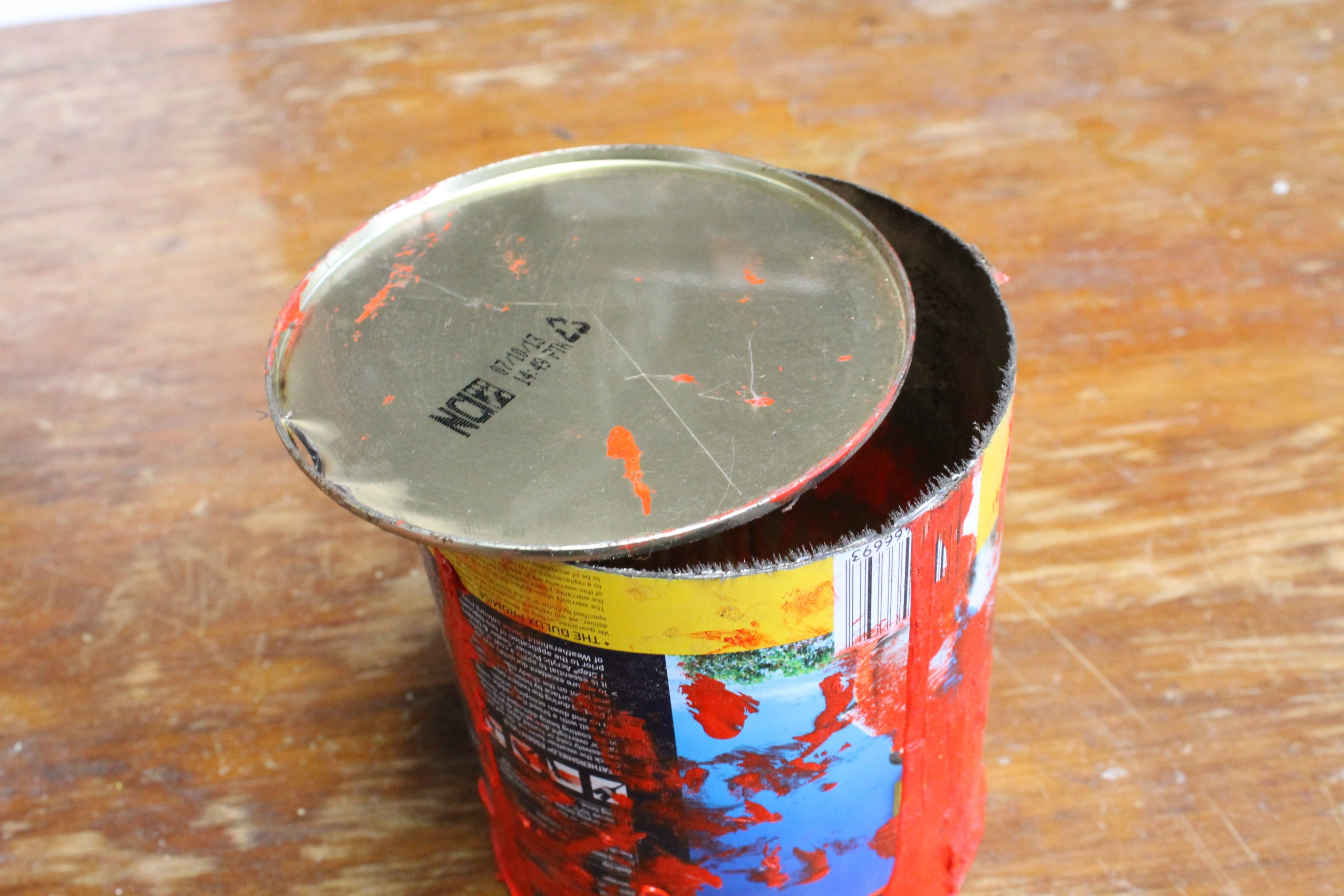 Picture of Cut the Bottom Off the Can