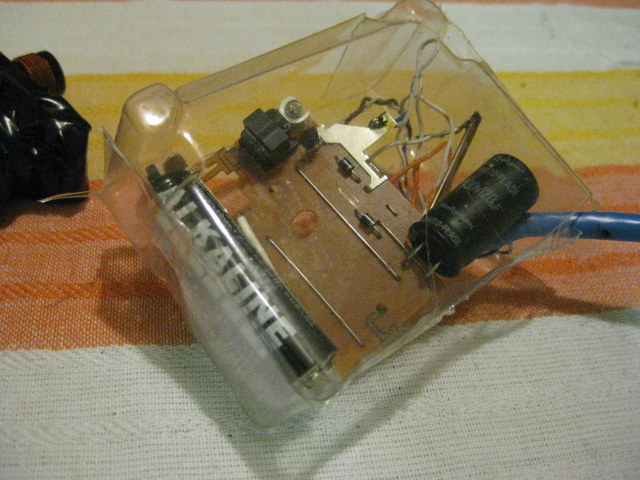 Picture of The Box for the Memory Eraser Circuit