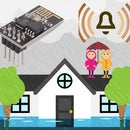 MQTT/Google Home Flood/Water WIFI Sensor With ESP-01