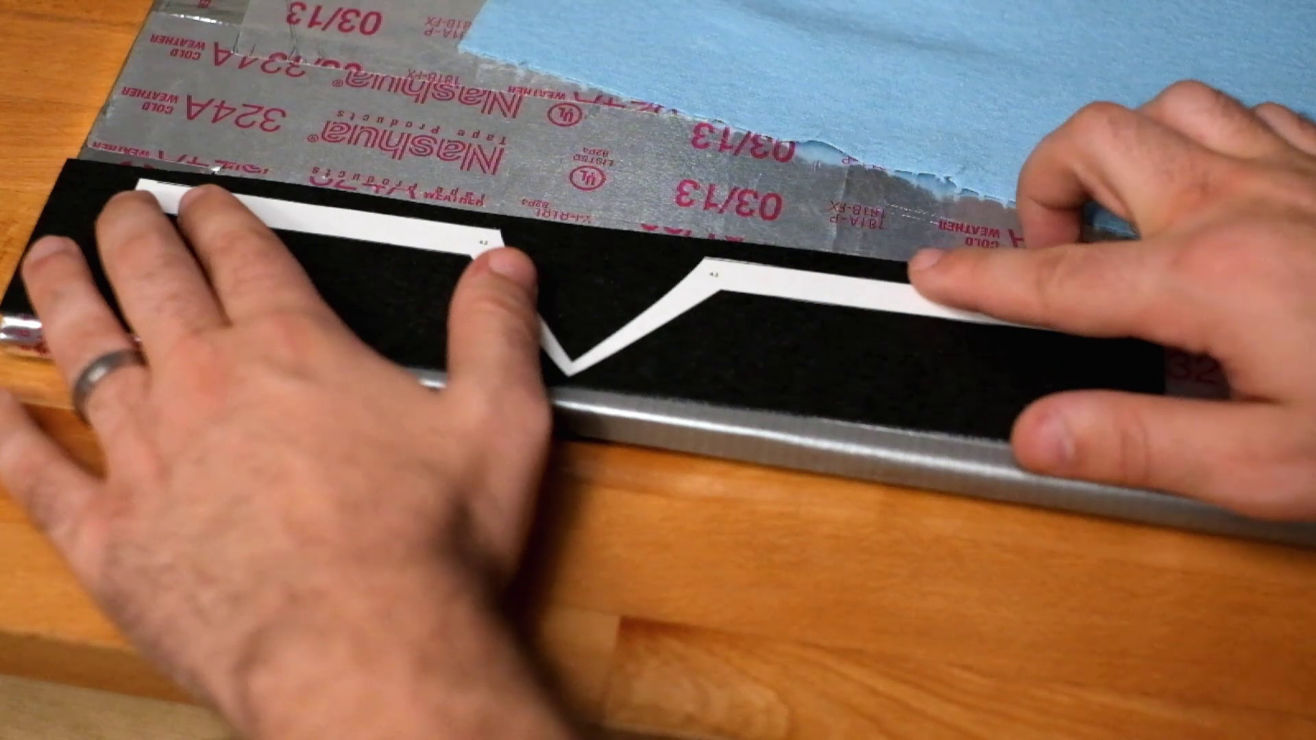 Picture of Cutting Out Pattern