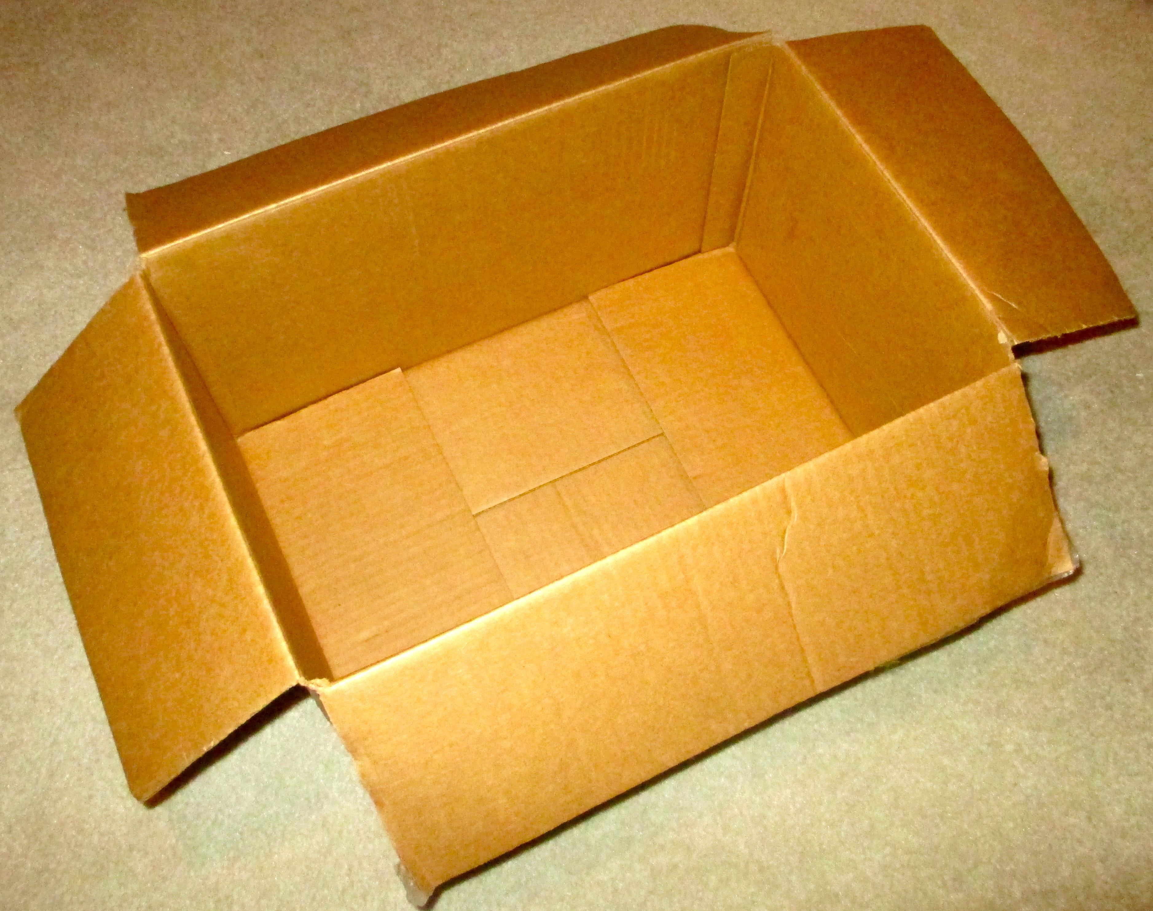 Picture of Find a Cardboard Box.