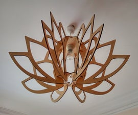 Flower Mandala Lamp