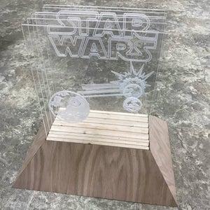 Add Acrylic Layers to Base