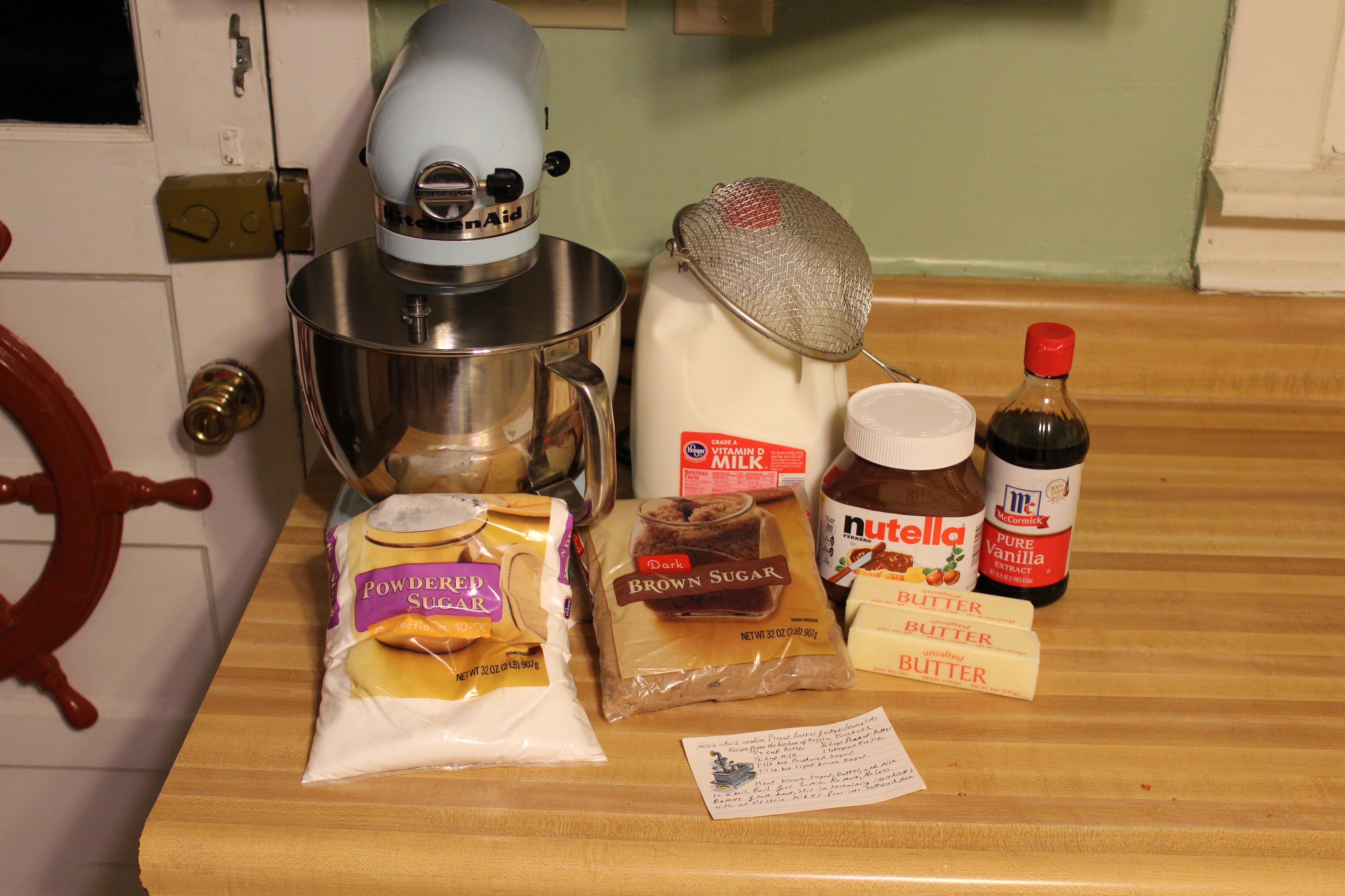 Picture of Nutella Fudge!