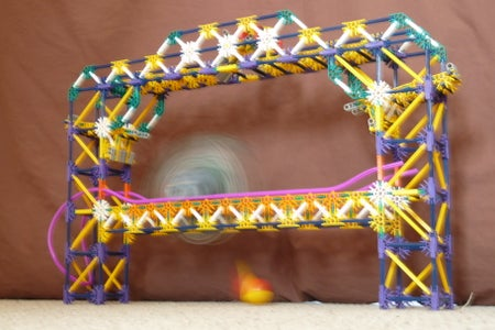 Knex Ball Machine Element - the Elliptica