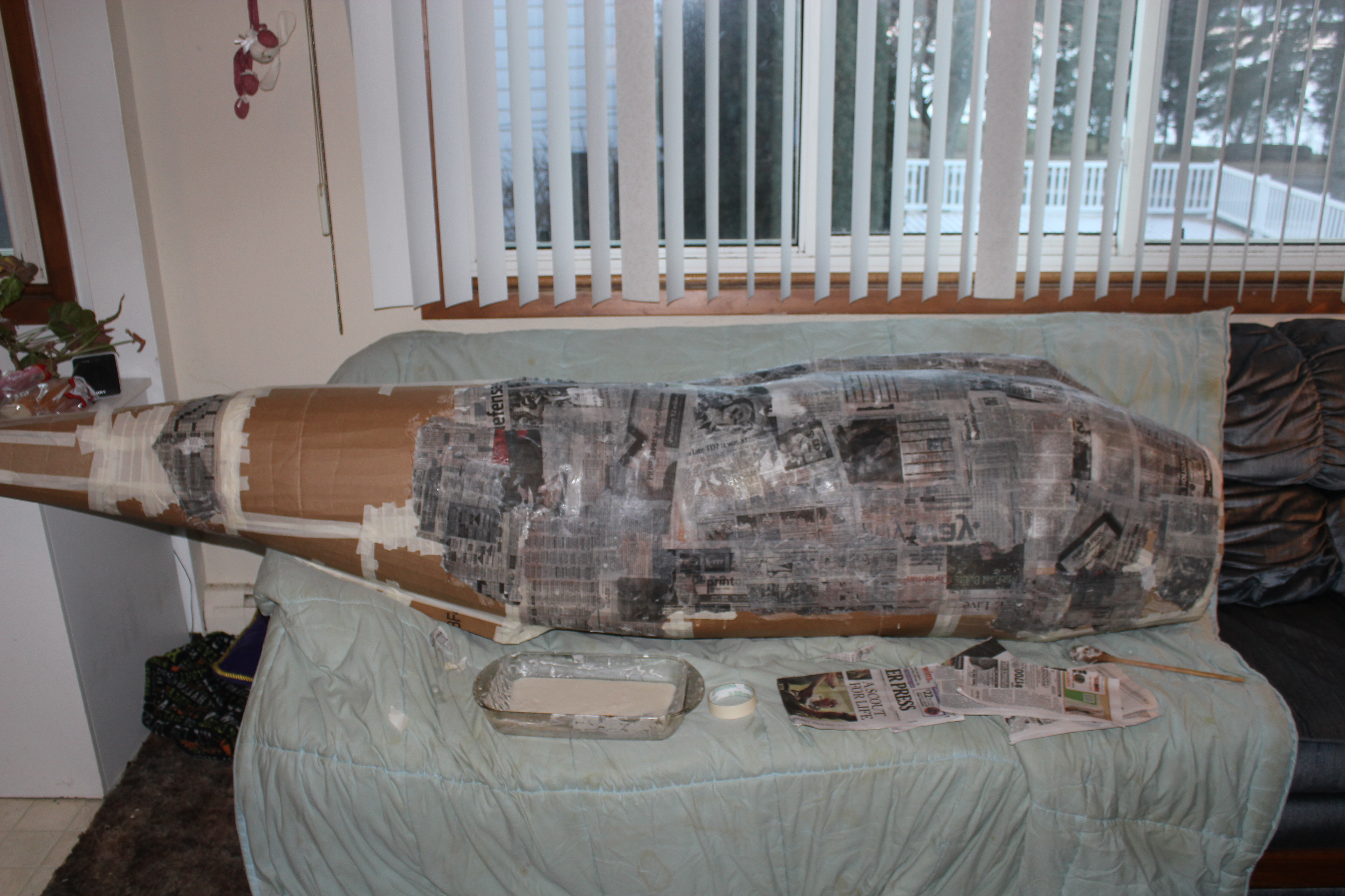 Picture of Paper Mache Is Your Friend