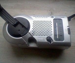 Wind Up Radio 3v Power Supply
