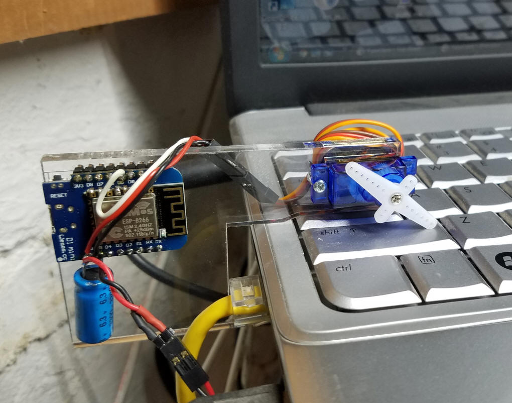Picture of Alexa Controlled Servo
