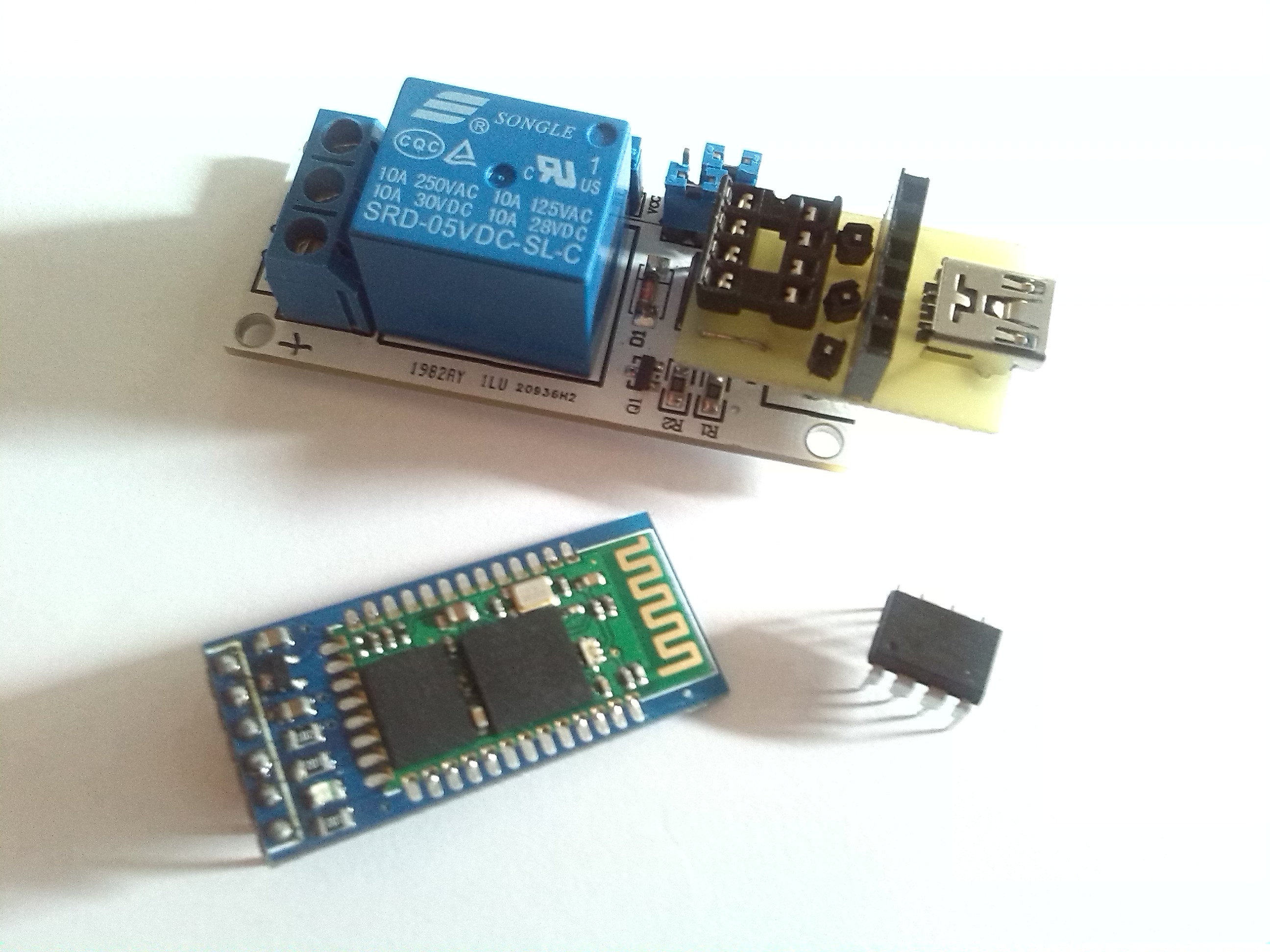Picture of Arduino Relay Module Bluetooth Upgrade