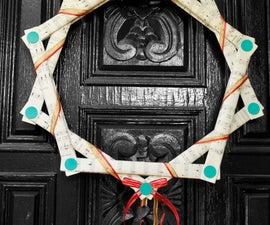 Makedo Christmas wreath