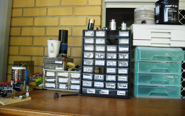 Picture of Storing Your Harvested Bits & Pieces...