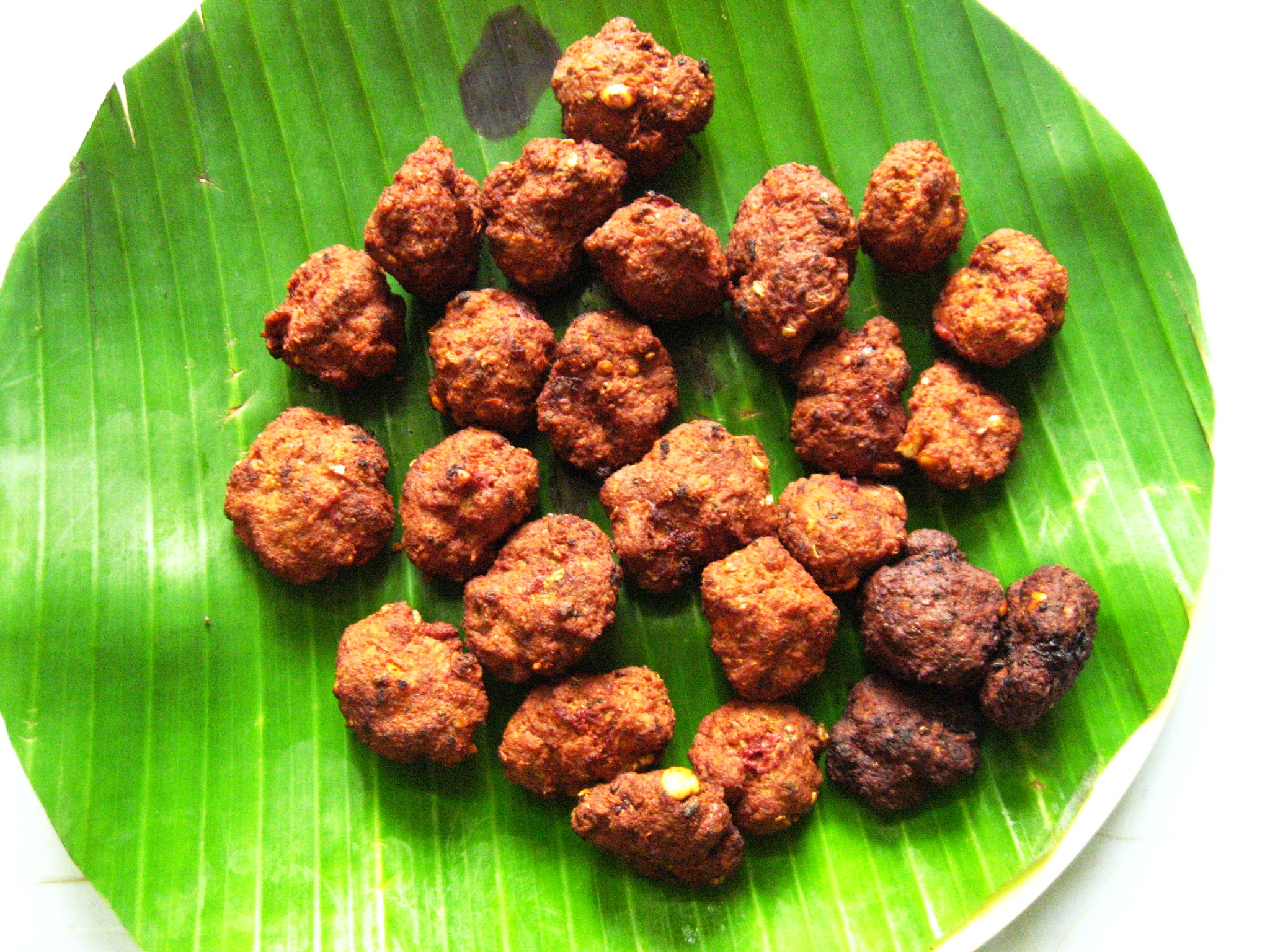 Picture of How to Cook Meatballs, a South Indian Recipe