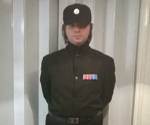 Star Wars: Imperial Officer (Black Outfit) Cosplay