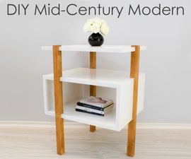 Mid-Century Modern Side Table