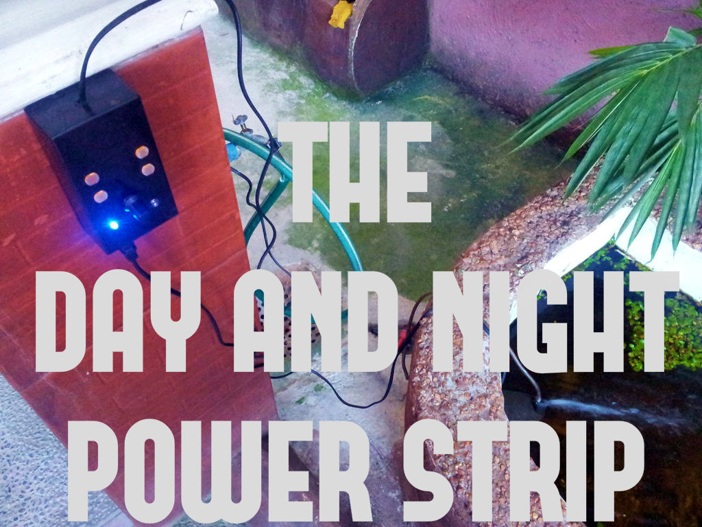 Picture of Day and Night Power Strip!: a Light Sensitive Power Outlet