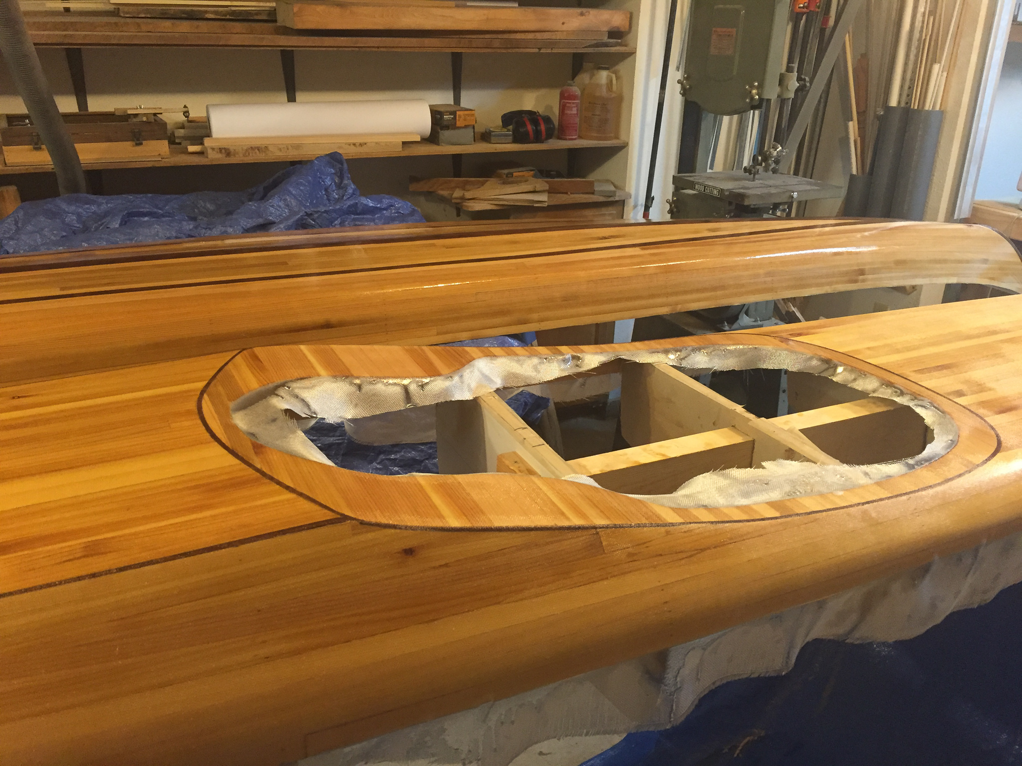 Picture of Fiberglass the Deck