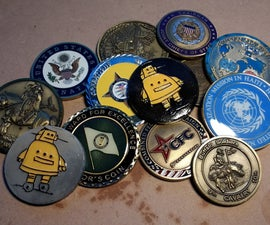 Make Your Own Challenge Coin or Geocaching Token