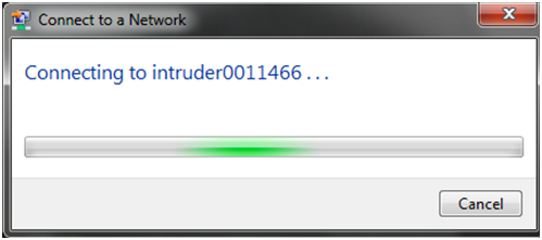 Connect the Intruder to the PC