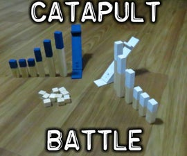 Catapult Battle Wood Toy