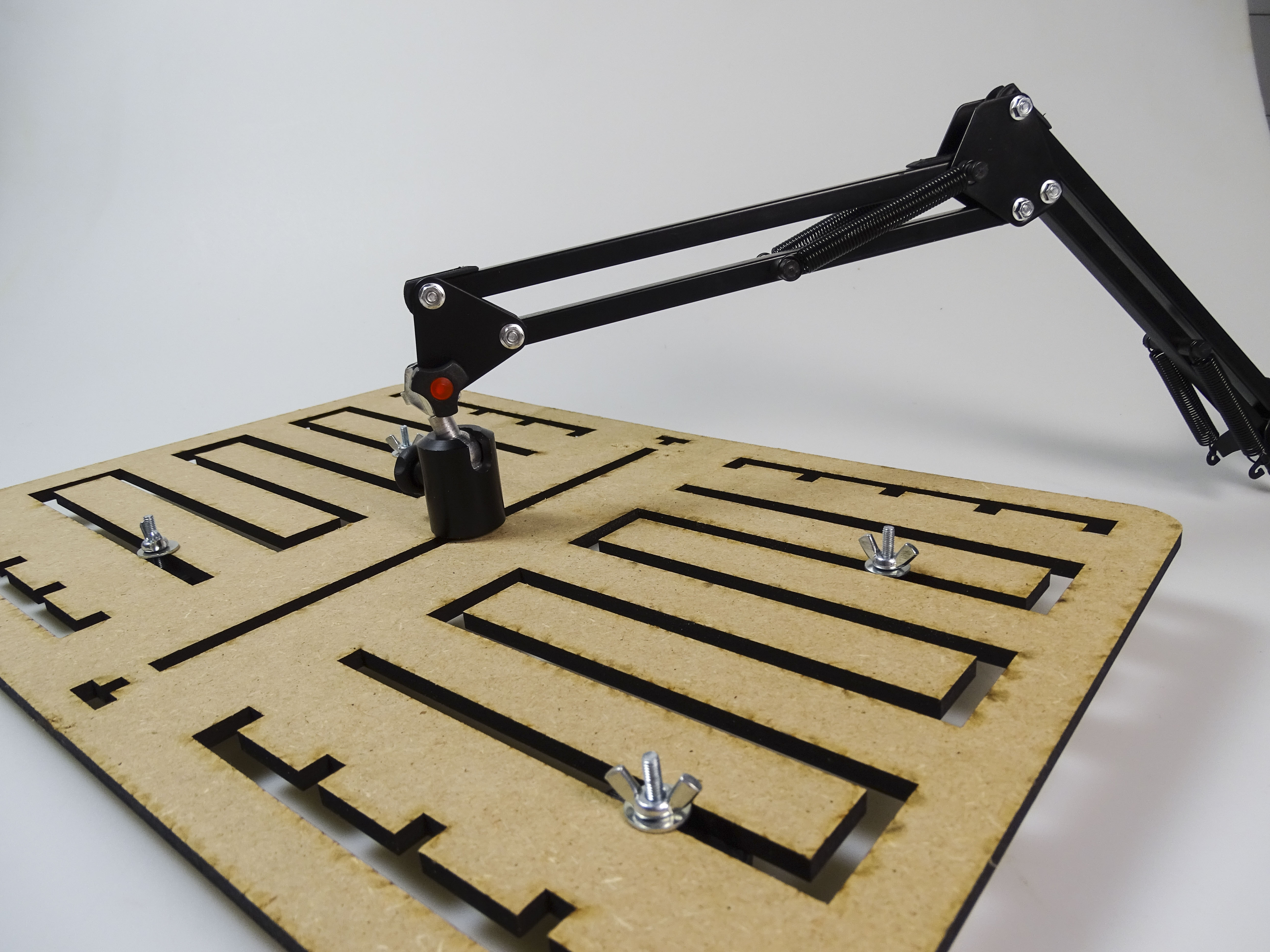 Picture of Attaching Reading Plate to the Frame