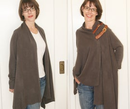 Make an old sweater new again!