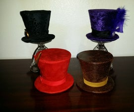 Flared Mini Top Hats with Versatile Attachment Points