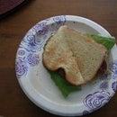 Pepperoni and Provolone Melt - Sandwich