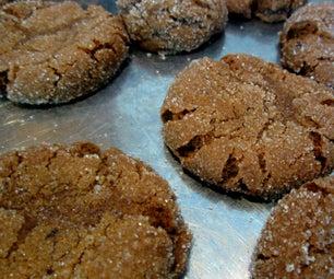 Holiday Molasses Cookies