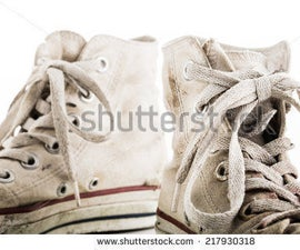 How to Clean White Shoe Laces