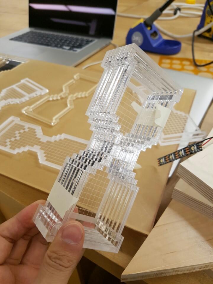 Picture of Design, Laser Cut, Assembling