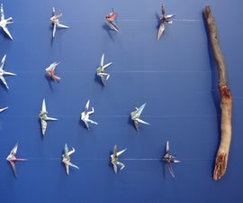Origami Crane Decoration