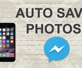Save photos from Facebook messenger app