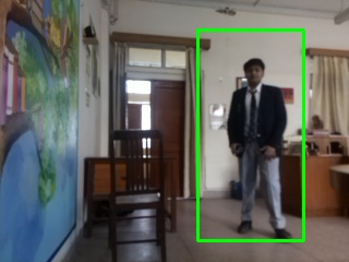 Picture of Raspberry Pi Human Detection (OpenCV) Setup