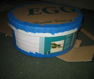 Oval Hat Box