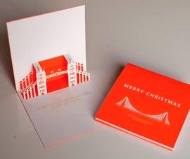Pop-up Laser Cut Christmas Cards
