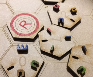 Factory Funner Boardgame (Customisable Machines)