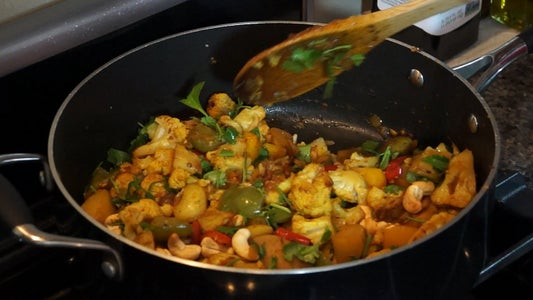 How to Make Cauliflower and Potatoes (Aloo Gobi)