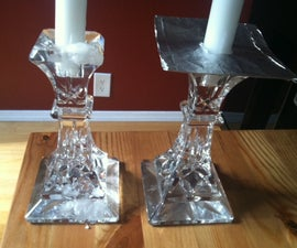 How to prevent a candle wax spillage: Making wax holders