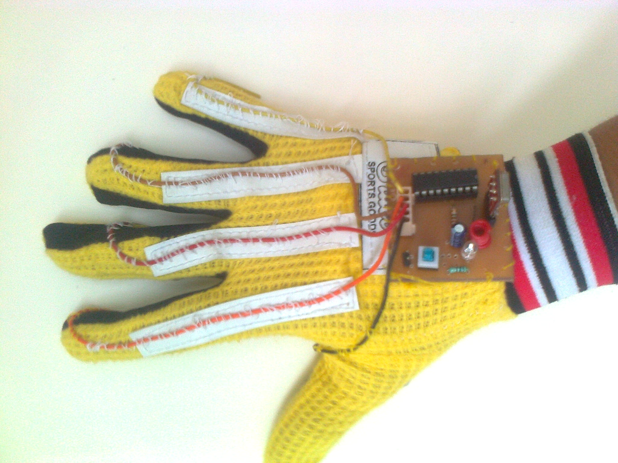 Picture of Making the Controller (Glove)