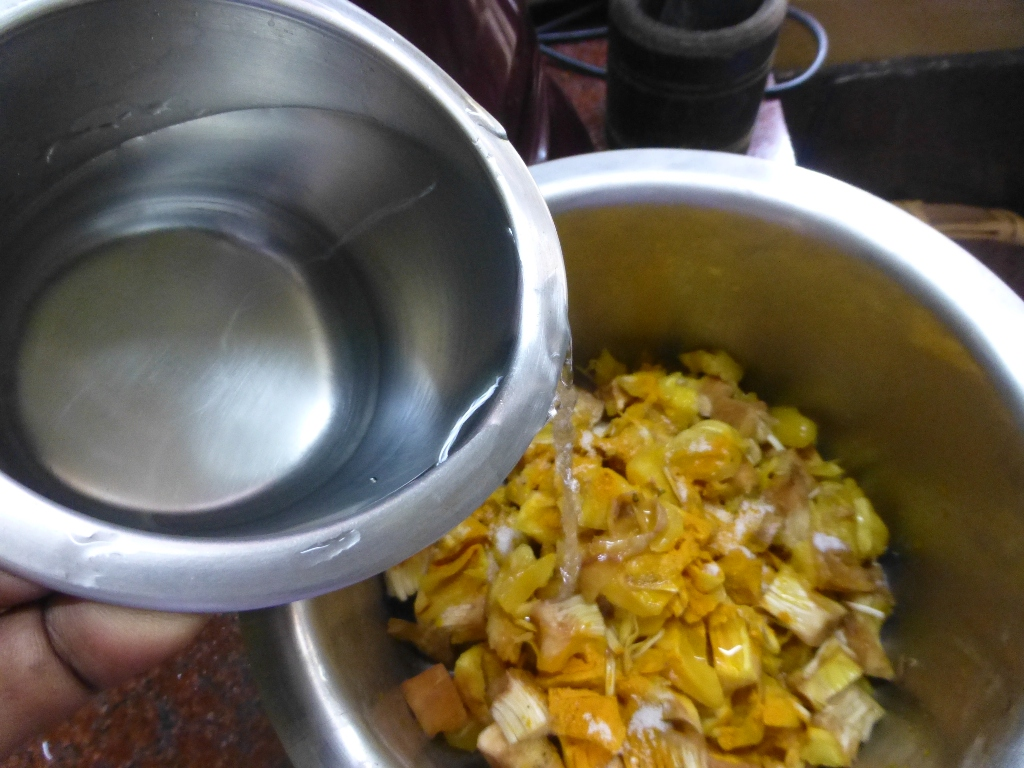 Picture of Boil the Jackfruit Cubes