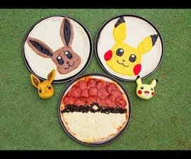 口袋妖怪披萨(Pikachu和Eevee)