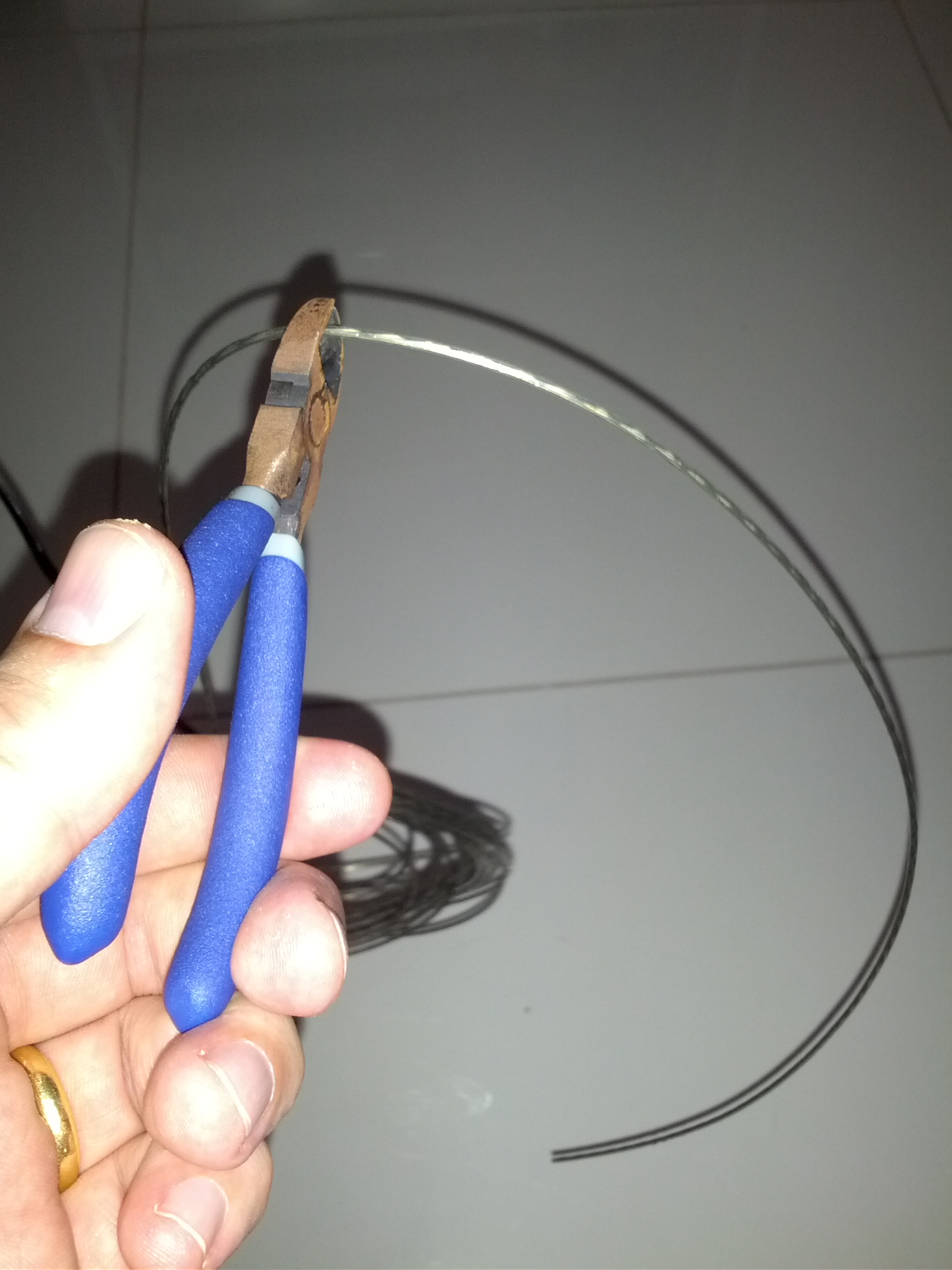 Picture of Cutting the Wire