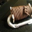 Paracord Carabiner PVC Spool