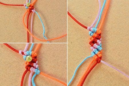 Continue to Braid the Nylon Threads