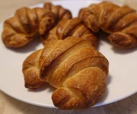 Homemade Butter Croissants