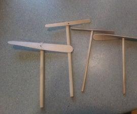 Craft Stick Propeller Jig