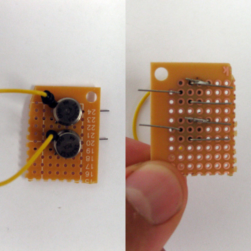 Picture of Wiring the Transistors to the Breadboard