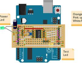 ATtiny Programmer Board (ArduinoUNO As ISP)