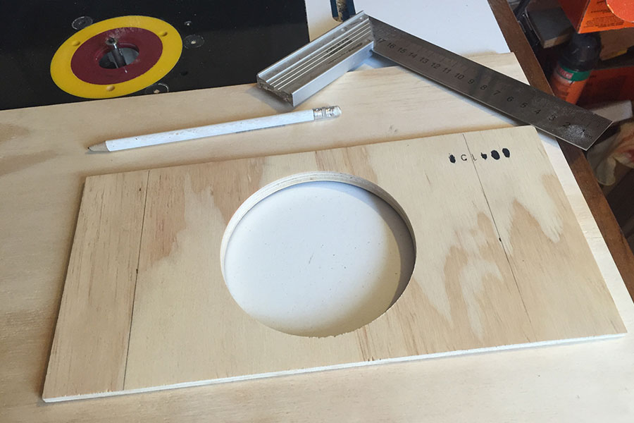 Picture of Making the Sound Hole