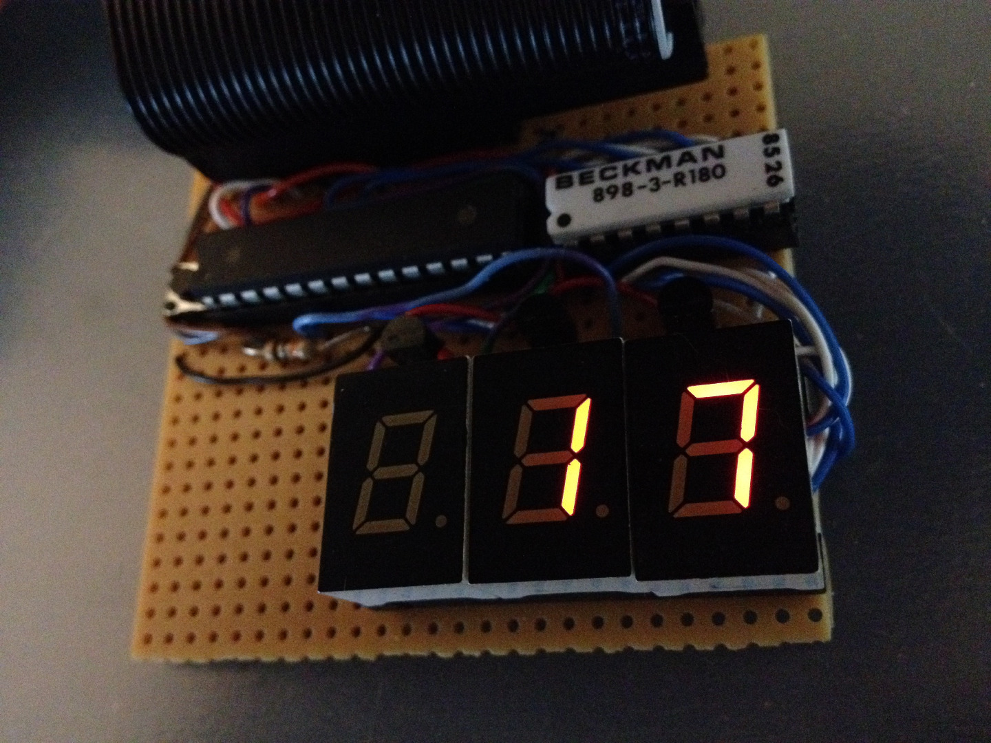 Picture of Raspberry Pi 2 DIY LED LAN Device Counter